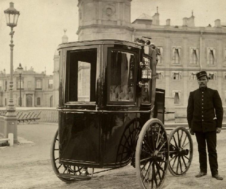 Первый русский электрический автомобиль