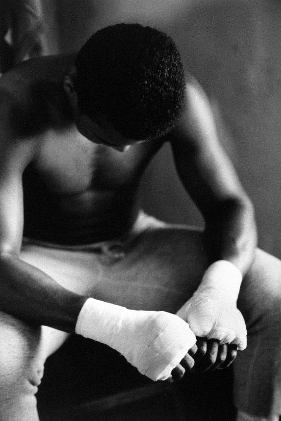 Bandaged Hands, Muhammad Ali