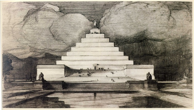 John Russell Pope: Proposal for Lincoln Memorial, 1912