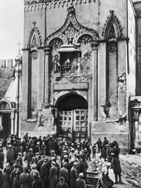 Кремль взят. Ноябрь 1917. Москва. Начало некрополя.