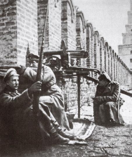 Юнкера, защищавшие Кремль