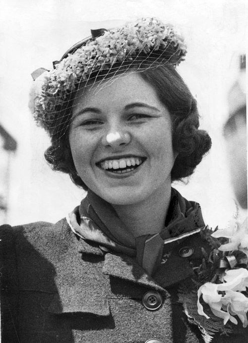 Rosemary Kennedy- before her father Joe forced her to have a labotomy.
