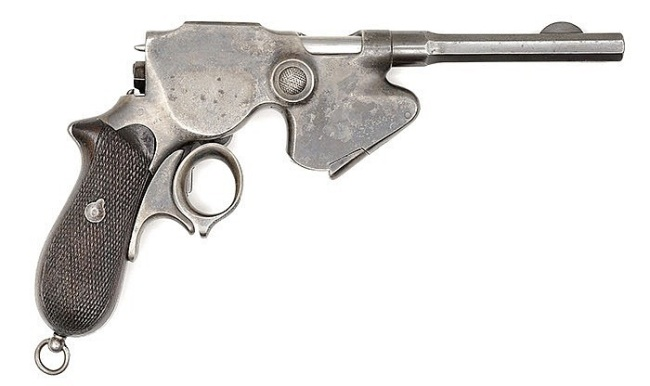 Steyr Laumann Model 1891 Repeating Pistol