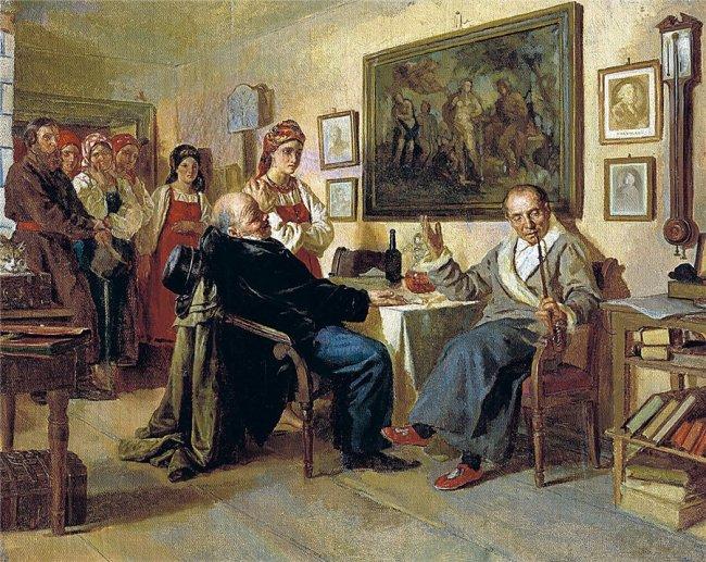 Халат и колпак – приметы аристократизма, достоинства частной жизни....