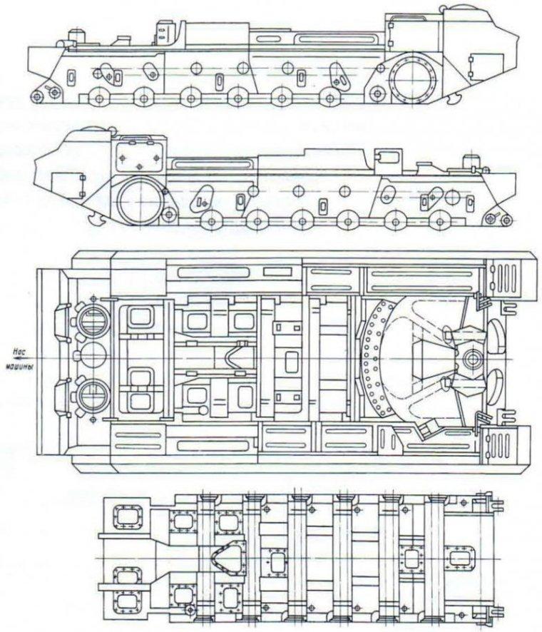 Корпус 216-50сб2, принятый для САУ 2С7