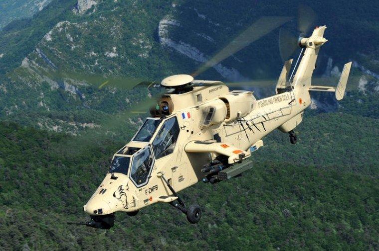 Вертолет Тигр французских ВВС