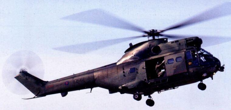 Aerospatiale SA.330 Puma, RAF