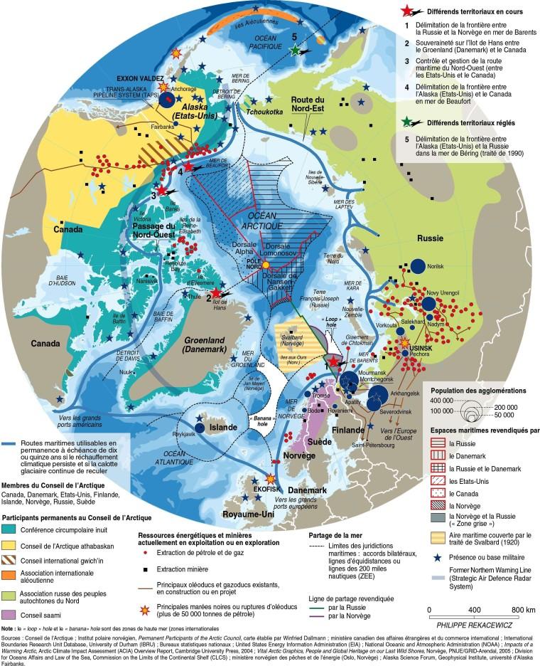 Арктика-геополитическая-карта