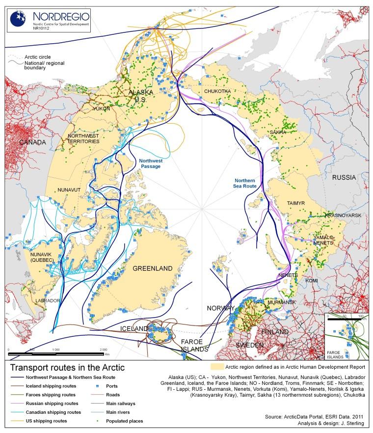Арктика-транспортные-маршруты
