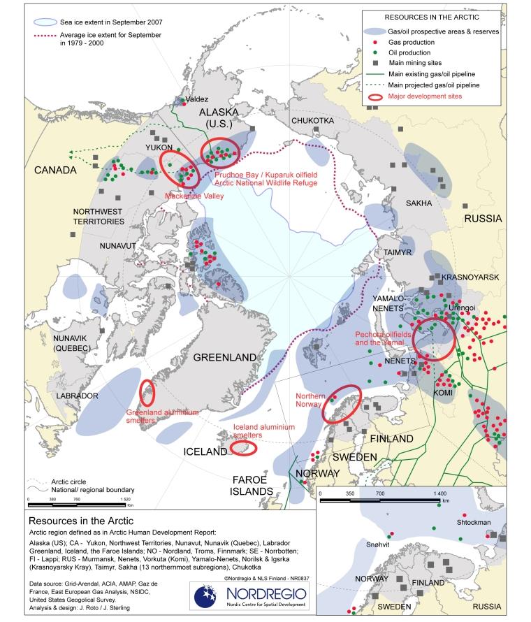 Арктика-уже-добываемые-нефть-и-газ