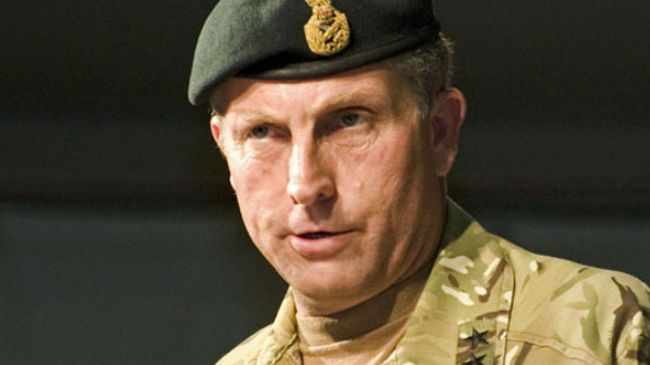 Генерал-лейтенант британской армии Ник Картер