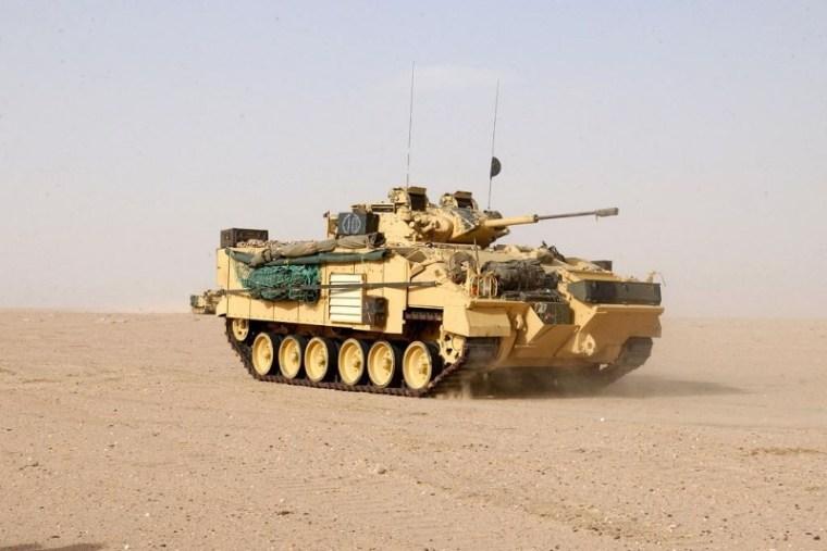 Боевая машина пехоты Warrior