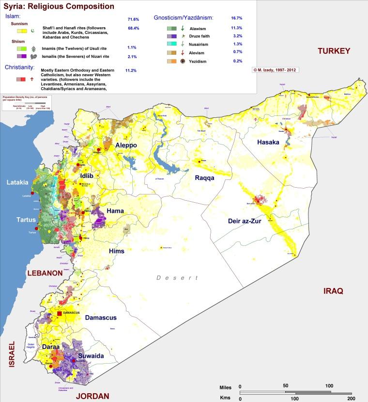 Сирия-религии