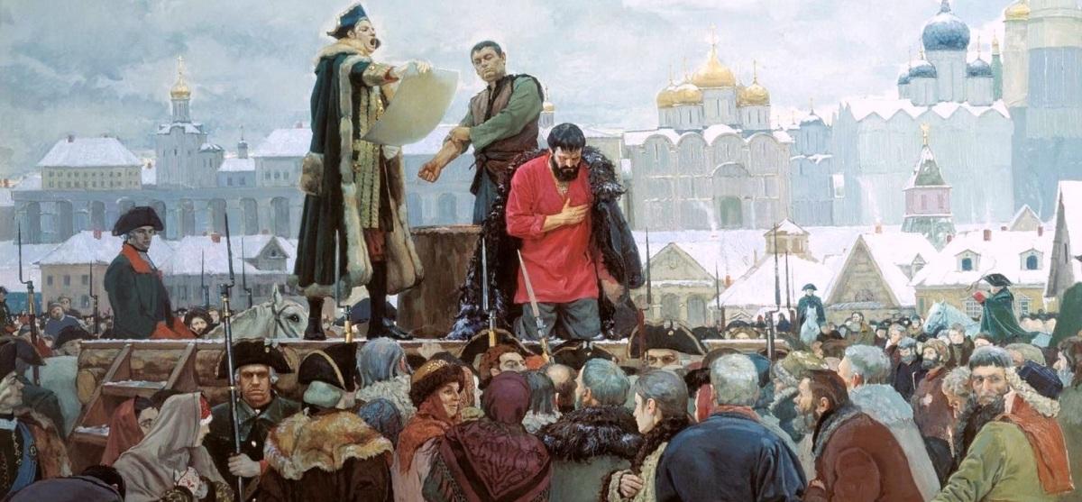 Опасная история. Засланный казачок Емельян Пугачёв