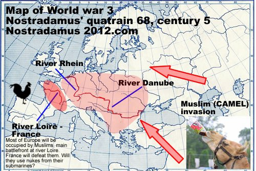 map_of_world_war_3_nostradamus_quatraing_muslims_attacking_europe