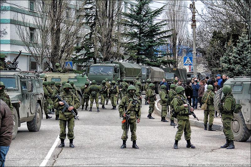 Как Вежливые Люди освобождали Крым — самые яркие моменты…